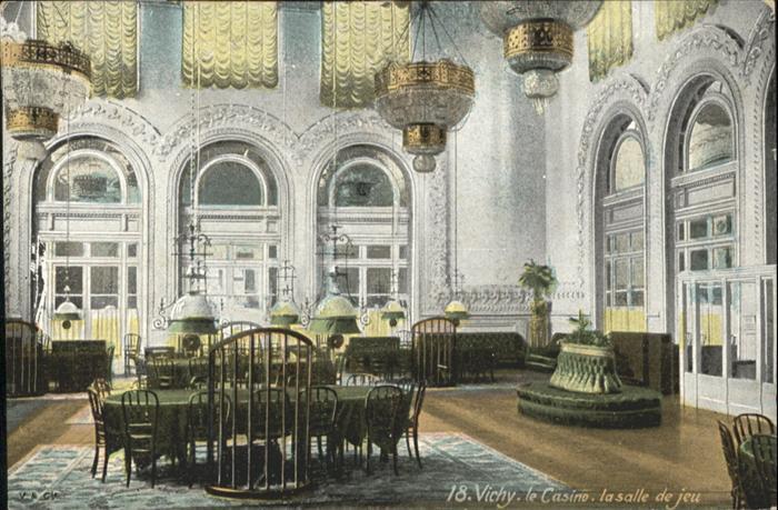 Vichy Allier le Casino la salle de jeu / Vichy /Arrond. de Vichy