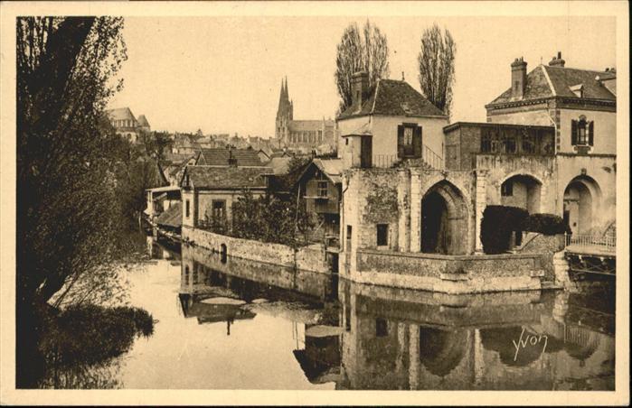 Chartres Eure et Loir Le Chateau d'If La Cathedrale / Chartres /Arrond. de Chartres