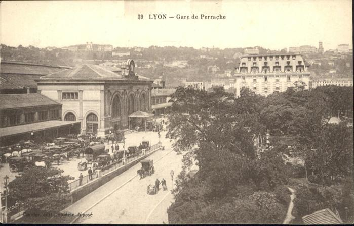 Lyon Gare de Perrache Kutsche