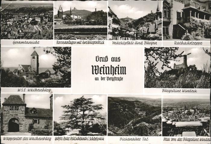 Weinheim Bergstrasse Bergstrasse / Weinheim /Heidelberg Stadtkreis