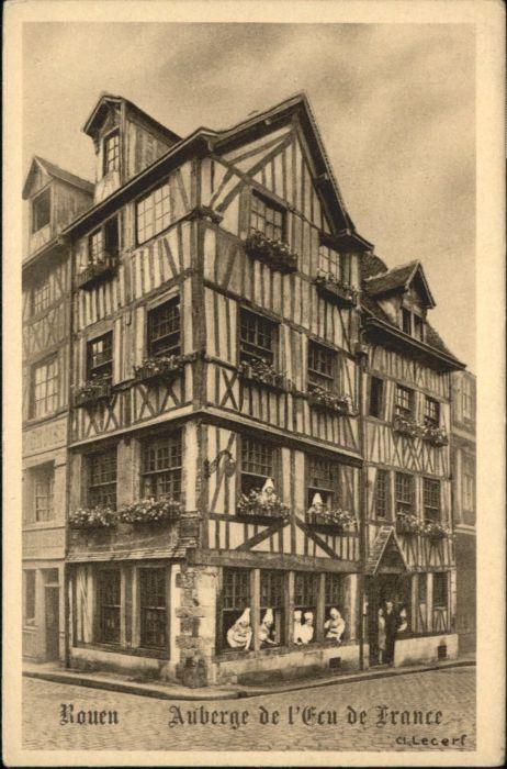 Rouen Rouen Auberge Eau France  * / Rouen /Arrond. de Rouen