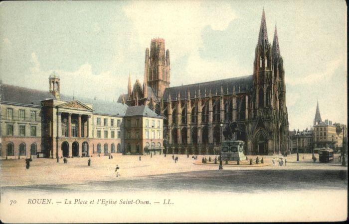 Rouen Rouen Place Eglise Saint-Ouen * / Rouen /Arrond. de Rouen