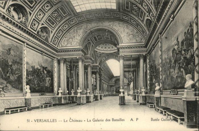 Versailles Yvelines Versailles Chateau Galerie Batailles * / Versailles /Arrond. de Versailles