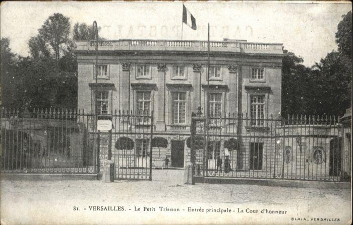 Versailles Yvelines Versailles Petit Trianon * / Versailles /Arrond. de Versailles