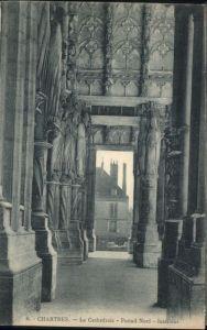 Chartres Eure et Loir Chartres Cathedrale Portail * / Chartres /Arrond. de Chartres