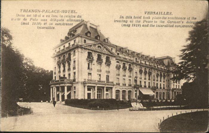 Versailles Yvelines Versailles Trianon-Palace-Hotel  * / Versailles /Arrond. de Versailles
