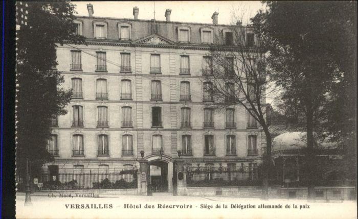 Versailles Yvelines Versailles Hotel Reservoirs * / Versailles /Arrond. de Versailles