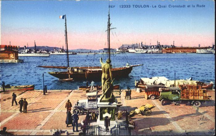 Toulon Var Toulon Schiff * / Toulon /Arrond. de Toulon