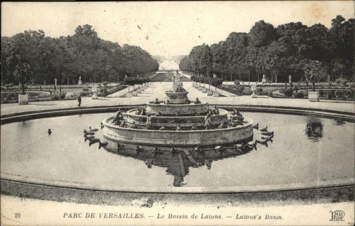 Versailles Yvelines Versailles Park Le Bassin de Laione x / Versailles /Arrond. de Versailles