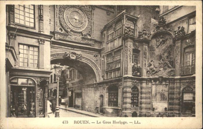 Rouen Rouen Le Gros Horloge * / Rouen /Arrond. de Rouen