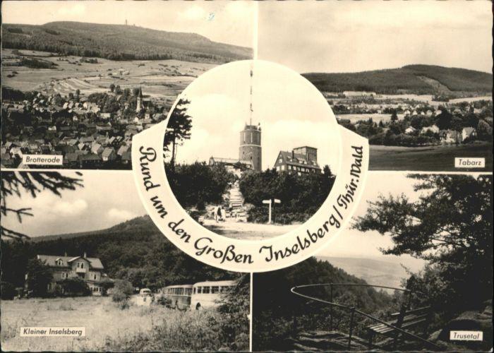 Inselsberg Schmalkalden Inselsberg Brotterode Kleiner Inselsberg Tabarz Trusetal x / Schmalkalden /Schmalkalden-Meiningen LKR