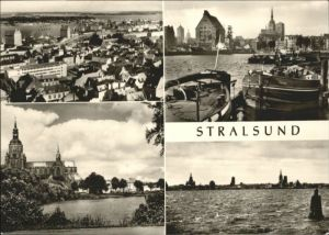 Stralsund Mecklenburg Vorpommern Stralsund Marienkirche Hafen x / Stralsund /Stralsund Stadtkreis