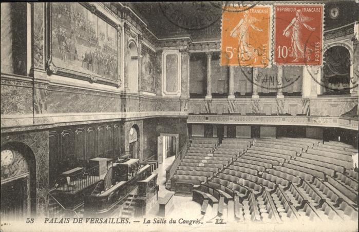 Versailles Palais de Versailles Salle du Congres Kat. Versailles