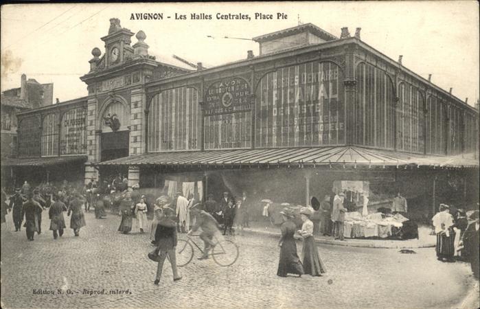 Avignon Place Pie Halles Centrales Kat. Avignon