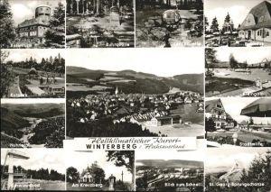 Winterberg Gasstaette Kahler Asten L. Deimel Kat. Winterberg