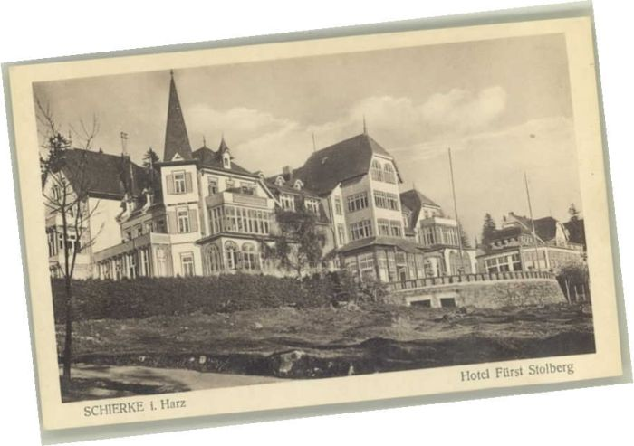 Schierke Harz Schierke Hotel Fuerst Stolberg * / Schierke Brocken /Harz LKR