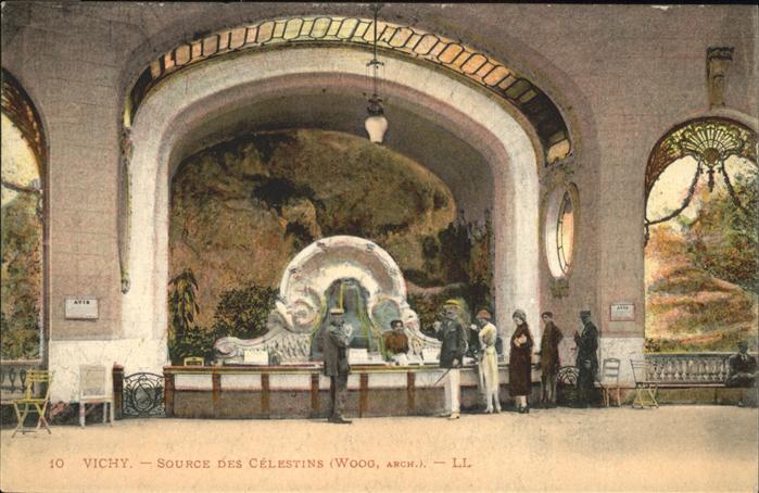 Vichy Allier Source des Celestins / Vichy /Arrond. de Vichy