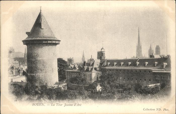 Rouen la Tour Jeanne 'Arc / Rouen /Arrond. de Rouen