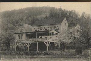 Krippen Bad Schandau Krippen Hotel Elbschloesschen * / Bad Schandau /Saechsische Schweiz-Osterzgebirge LKR