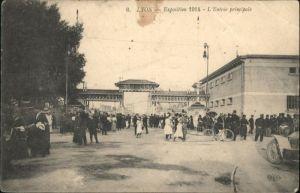 Lyon L'Entree principale Exposition *