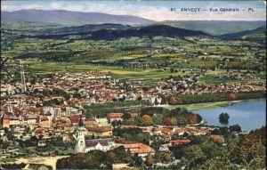 ws71872 Annecy Haute-Savoie Annecy  * Kategorie. Annecy Alte Ansichtskarten
