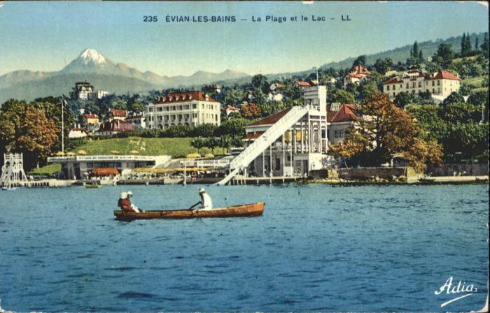 Evian-les-Bains La Plage le Lac *