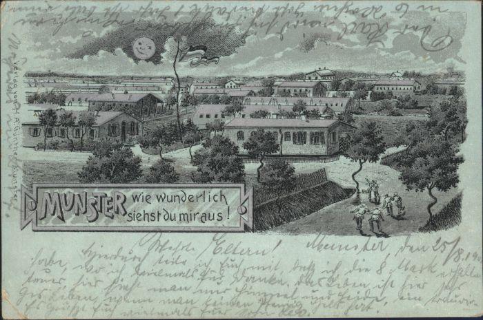 Munster oertze Munster Glanzkarte x / Munster /Soltau-Fallingbostel LKR