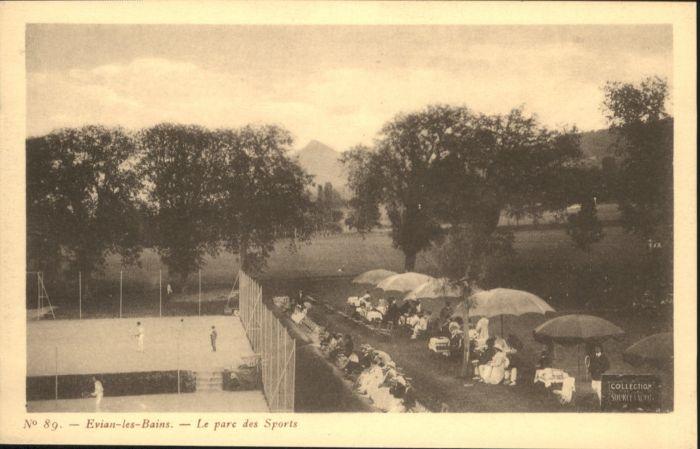 Evian-les-Bains Parc Sports Tennisplatz *