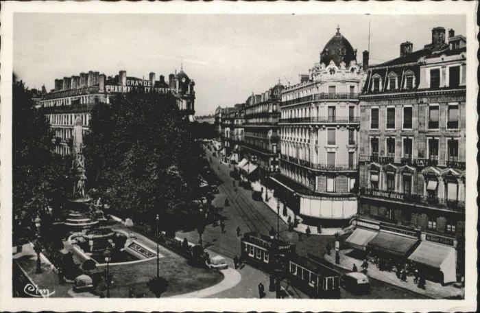 Lyon Place de la Republique Monument Carnot  Rue President-Carnot *