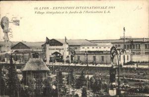 Lyon Exposition Internationale Village Senegalais x