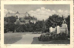 Karlsbad Eger Boehmen Beethoven Denkmal Hotel Imperial Kat. Karlovy Vary