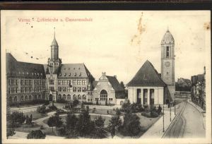 Worms Lutherkirche Eleonorenschule Kat. Worms