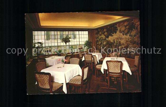 Assmannshausen Historischer Gasthof Krone Restaurant / Ruedesheim am Rhein /
