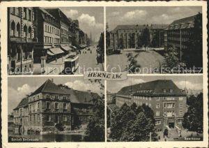 Herne Westfalen Schloss Struenkede Bahnhofstrasse / Herne /Herne Stadtkreis