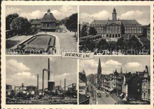 Herne Westfalen Zeche Friedrich des Grossen Bahnhofstrasse / Herne /Herne Stadtkreis