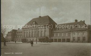 Hamm Westfalen Bahnhof Kat. Hamm