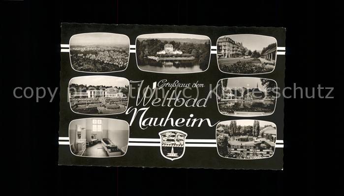 Bad Nauheim Ansichten Wappen Kat. Bad Nauheim