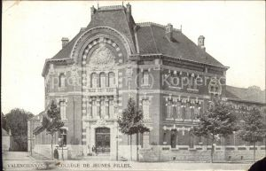 Valenciennes College de Jeunes Filles Feldpost Kat. Valenciennes