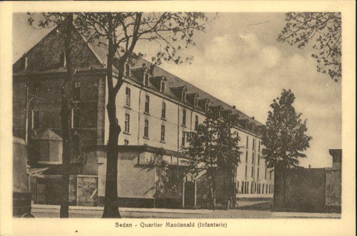 Sedan Quartier Macdonald Infanterie *