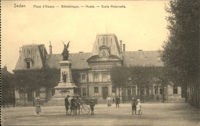 Sedan Ecole Maternelle Bibliotheque Musee *