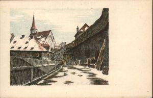Eger Franziskanerhof Kuenstler B Lark  *