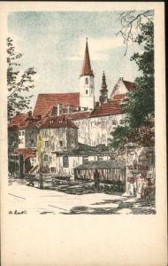 Eger Franziskaner Kirche Kuenstler B Lark *