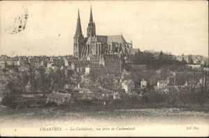 Chartres Cathedrale Cachembach x