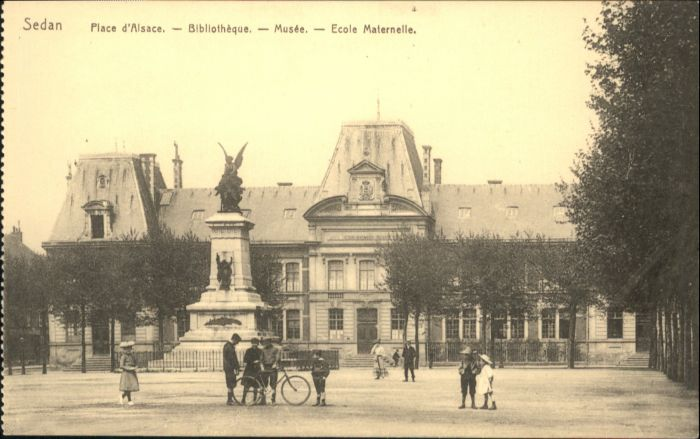 Sedan Place d'Alsace Bibliotheque Musee Ecole Maternelle *