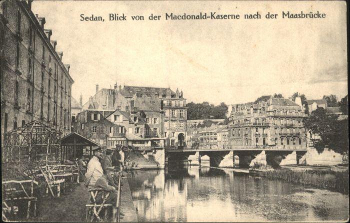 Sedan Macdonald-kaserne Maasbruecke x