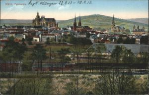 ww80485 Metz Moselle Lothringen Metz  * Kategorie. Metz Alte Ansichtskarten