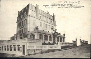 Biarritz Excelsior Hotel  x