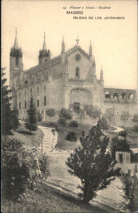 Madrid Iglesia los Jeronimos *