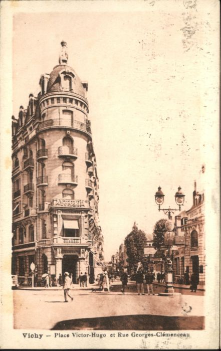 Vichy Place Victor Hugo Rue Georges Clemenceau x