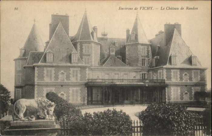 Vichy Le Chateau de Randan *